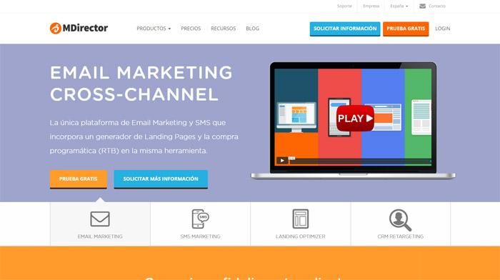 Mdirector Email Marketing