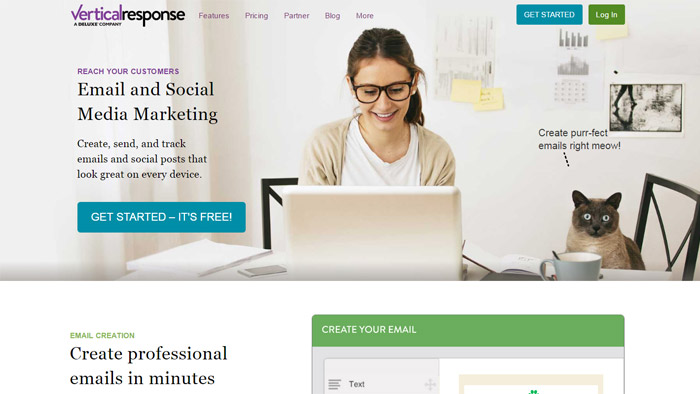 Vertical Response Email Marketing