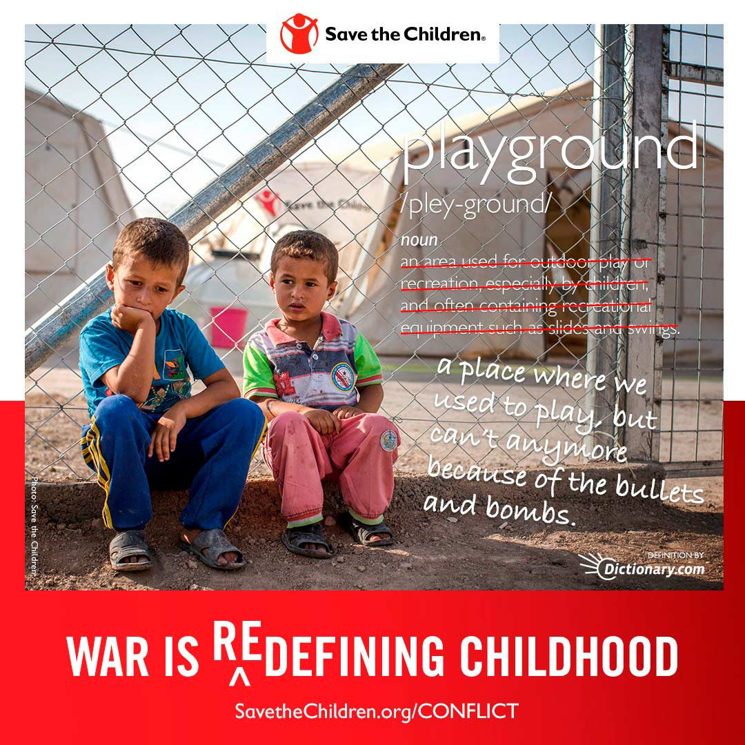 Social Advertising Save the children