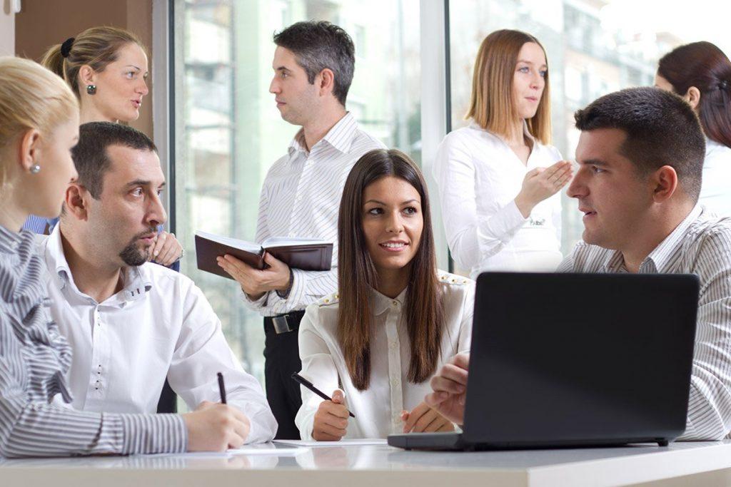 Entrepreneurs Working